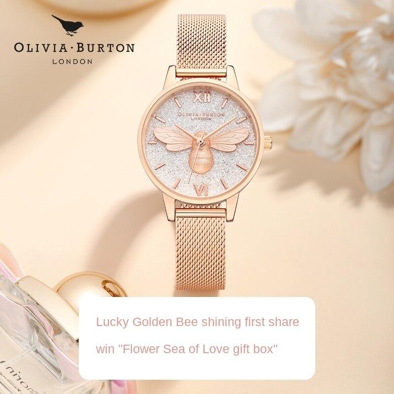 Women's Bee Watch Special Interest Light Luxury Gift Genuine Women Watch