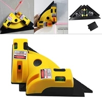high precision laser right angle 90 degree ground wire line instrument multifunctional laser marking instrument for woodworking