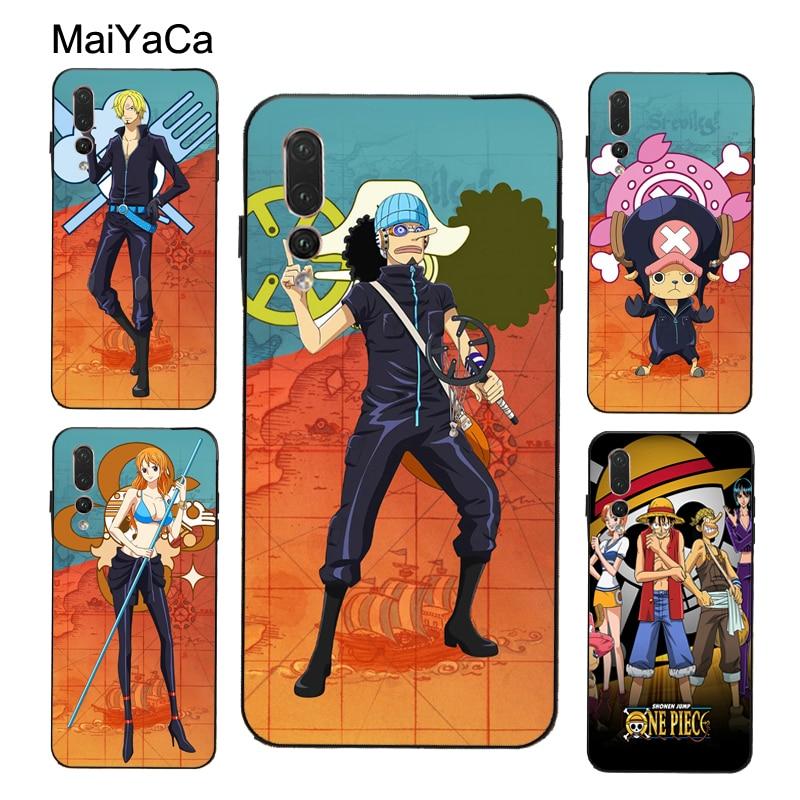 MaiYaCa one piece Luffy Zoro Case For Huawei P30 P10 P40 P20 Lite Mate 10 Lite 20 30 Pro P Smart 2019 Z