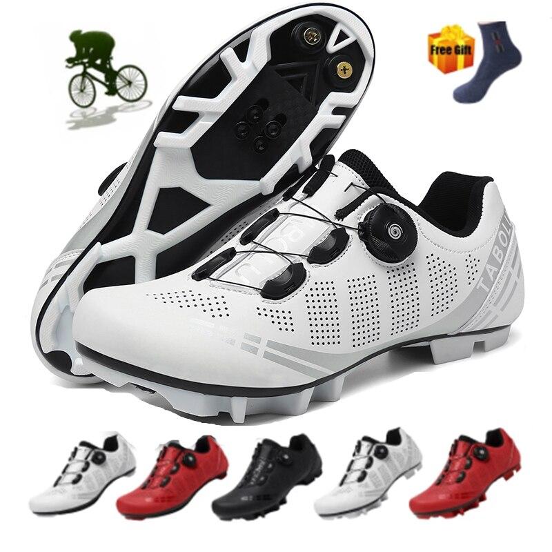 New couple Cycling Shoes Zapatos de bicicleta mtb Men Sneakers Women Original Mountain Bicycle Shoes
