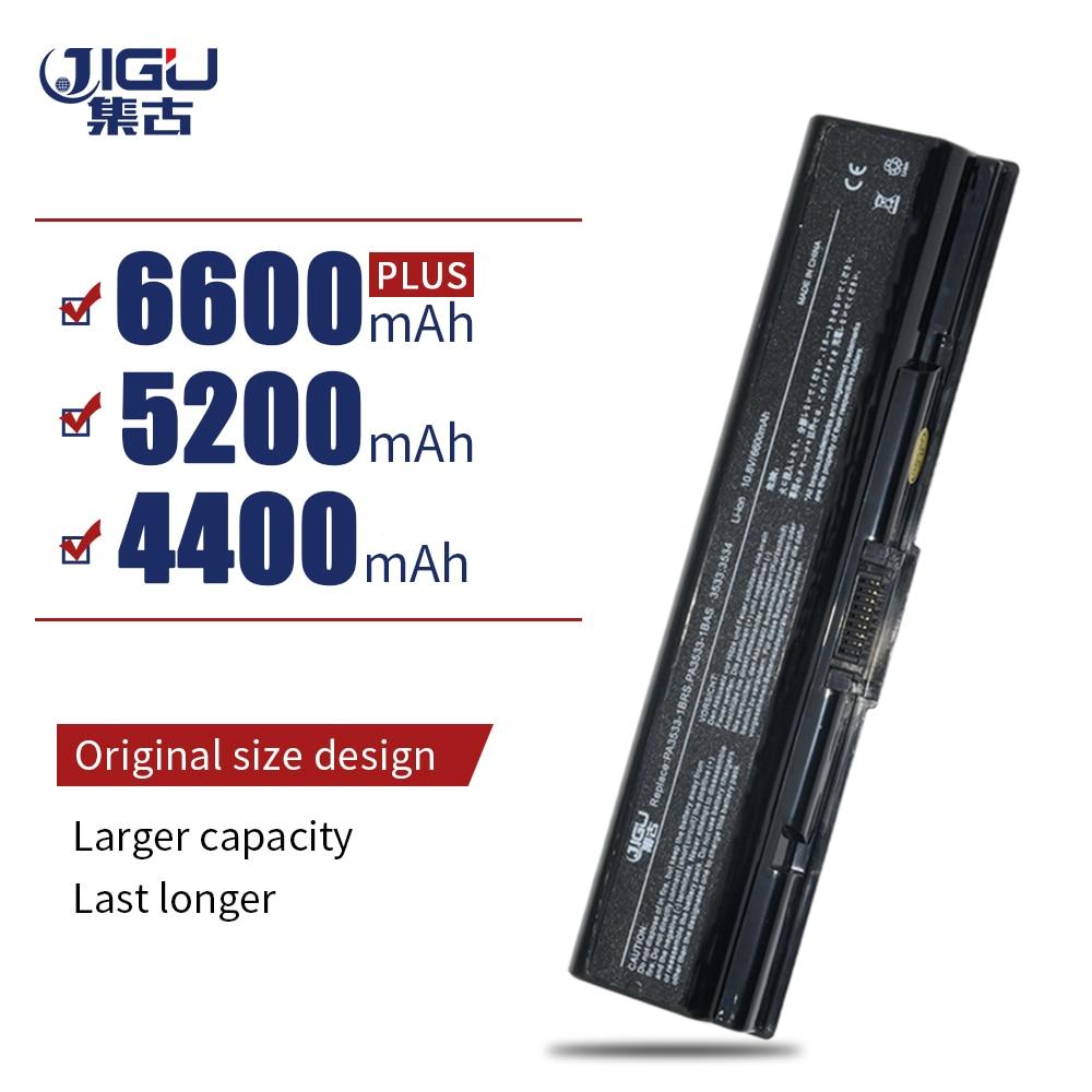 JIGU Laptop Battery For Toshiba Satellite L300 L305 L400 L455D A215 A305D A350  A500 A505D L582 L585 L587 L581 L583 L586