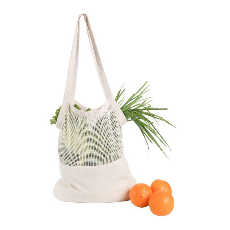 Bolso de compras tipo malla reutilizable, bolsa de almacenaje de alimentos, bolsa Eco Shoppers, bolsa de compras, bolsa de hilo de algodón