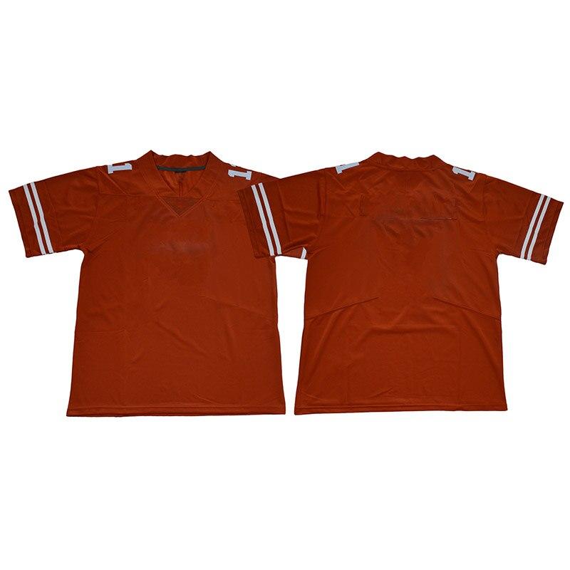 Мужские трикотажные футболки на заказ, американский футбол, Техасские спортивные трикотажные футболки для фанатов Ehlinger