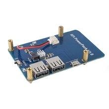 Panneau dextension batterie au Lithium   Avec interrupteur, alimentation pour Raspberry Pi 3,2 modèle B,1 modèle B + banane Pi