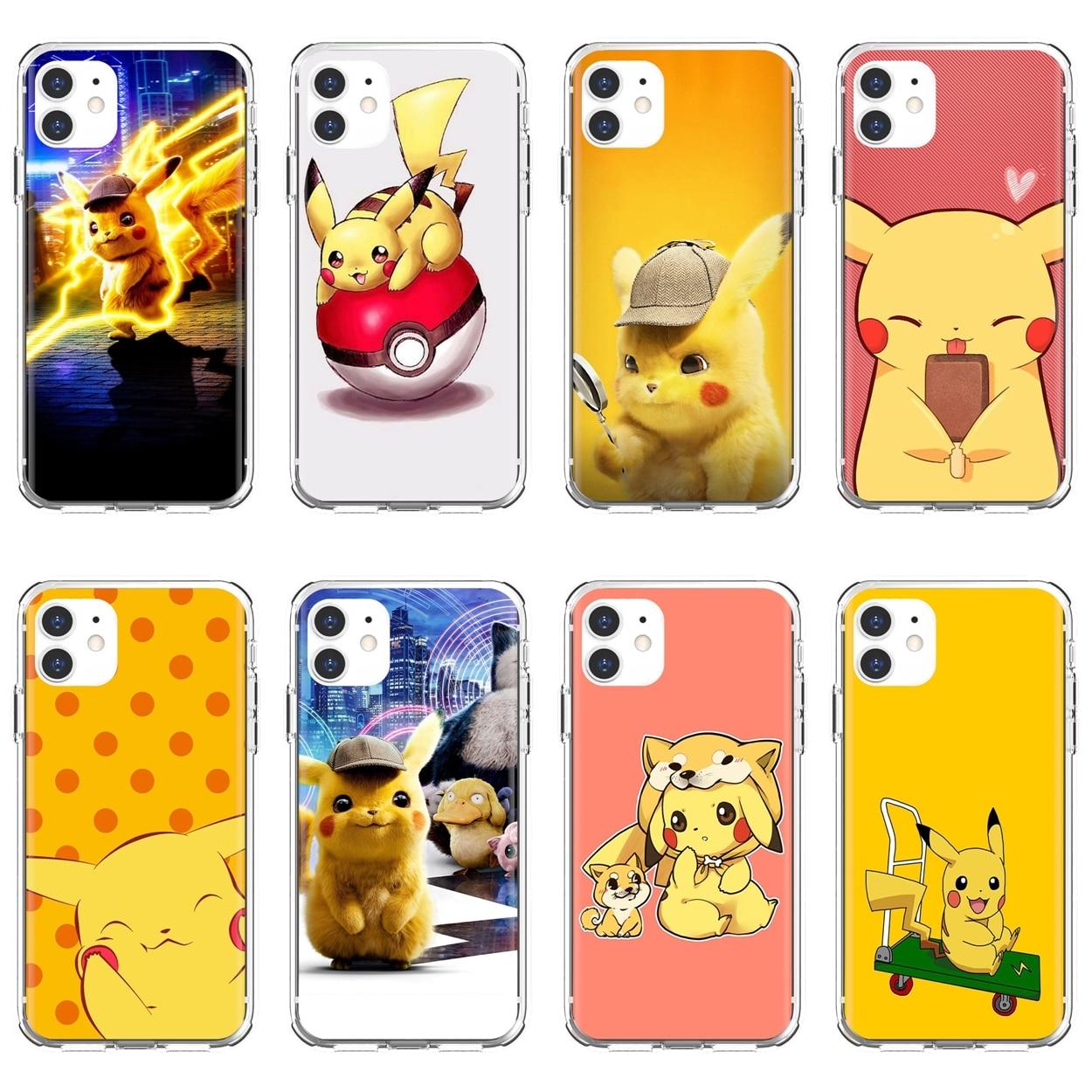 Pikachu For Xiaomi Redmi 2 S2 3 3S 4 4A 5 5A 5 6 6A 7A 9 9T 9C 9A Pro Pocophone F1 Phone Case
