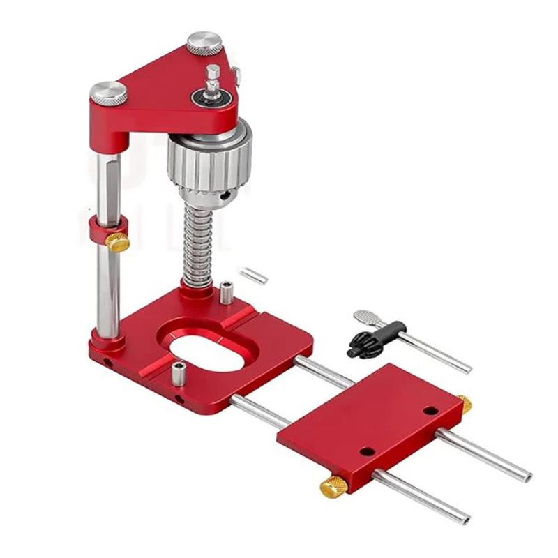 Woodworking Positioning Tool Portable Drill Locator Woodpeckers Precision Positioner Wood Boring Machine Joinery System Kit
