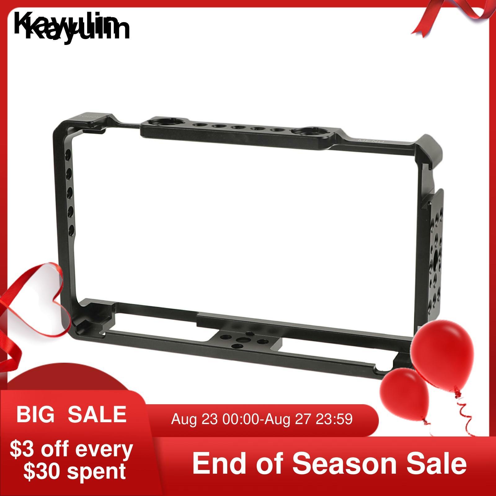 Kayulin-حامل درع قفص مناسب ، لشاشة FeelWorld LUT6 و LUTS6 6