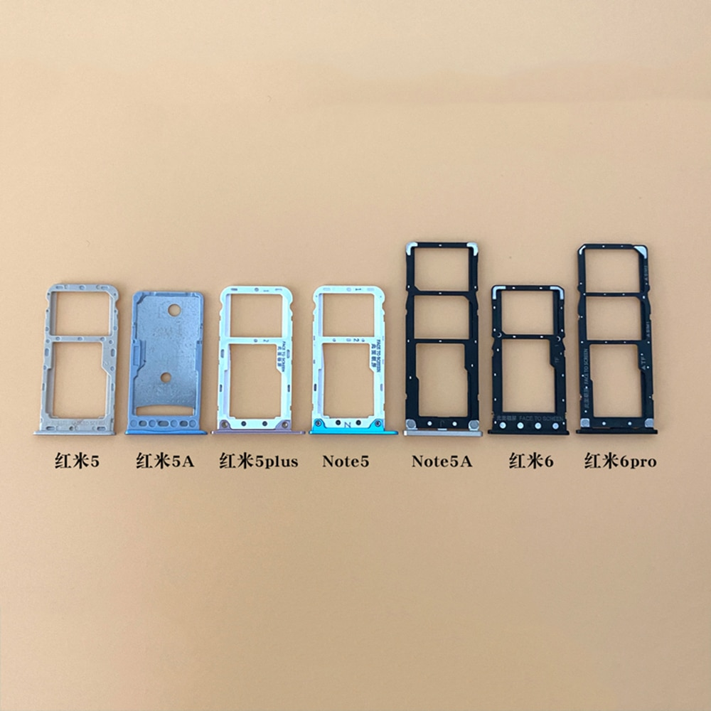 Держатель Sim-карты лоток Слот для карты для Xiaomi mi Redmi note 5 держатель Sim-карты