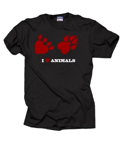 I love Animals T-shirt Pet Lover T-shirt Tee Shirt dog t-shirt cat t-shirt