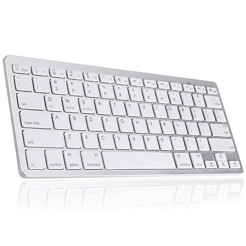 78 مفاتيح لوحة المفاتيح اللاسلكية بلوتوث-متوافق الروسية/الألمانية/الكورية/الإسبانية/الفرنسية/العربية/التايلاندية لباد/ويندوز OS/ماك/أندرويد