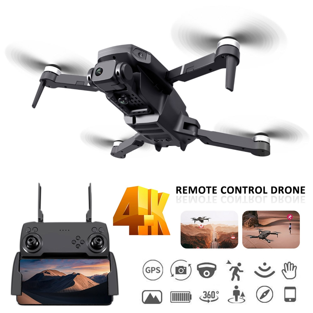 RC Mini Drone 4K Camera 5G WiFi FPV Air Pressure Altitude Hold Foldable Quadcopter Dron Toy Brushless Motor for Kids Adults Gift enlarge