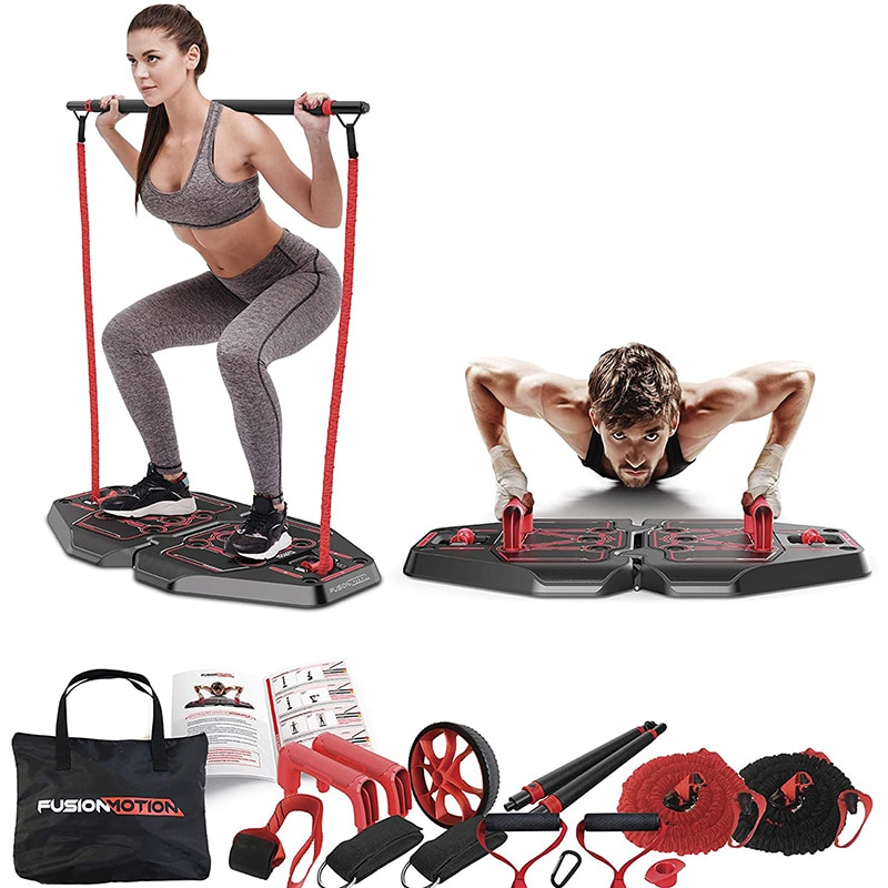 Multifunction Pushup Board Full Body Workout Fitness Equipment for Home Gym Push Up Stand  Abdominal Exercise Resistance Bands