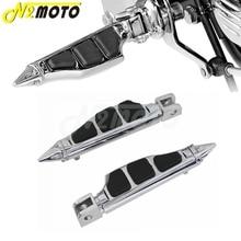 Repose-pieds pied de moto   Cheville à Stiletto chromé, pour Suzuki Boulevard M109R M50 M90 HONDA GL1800 2006-2013
