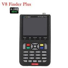 Satxtrem V8 Finder Plus FTA Satellite Finder H.265 DVB-S2/S2X MPEG-4 DVB S2 Digital Satellite Signal Meter Full HD Sat finder