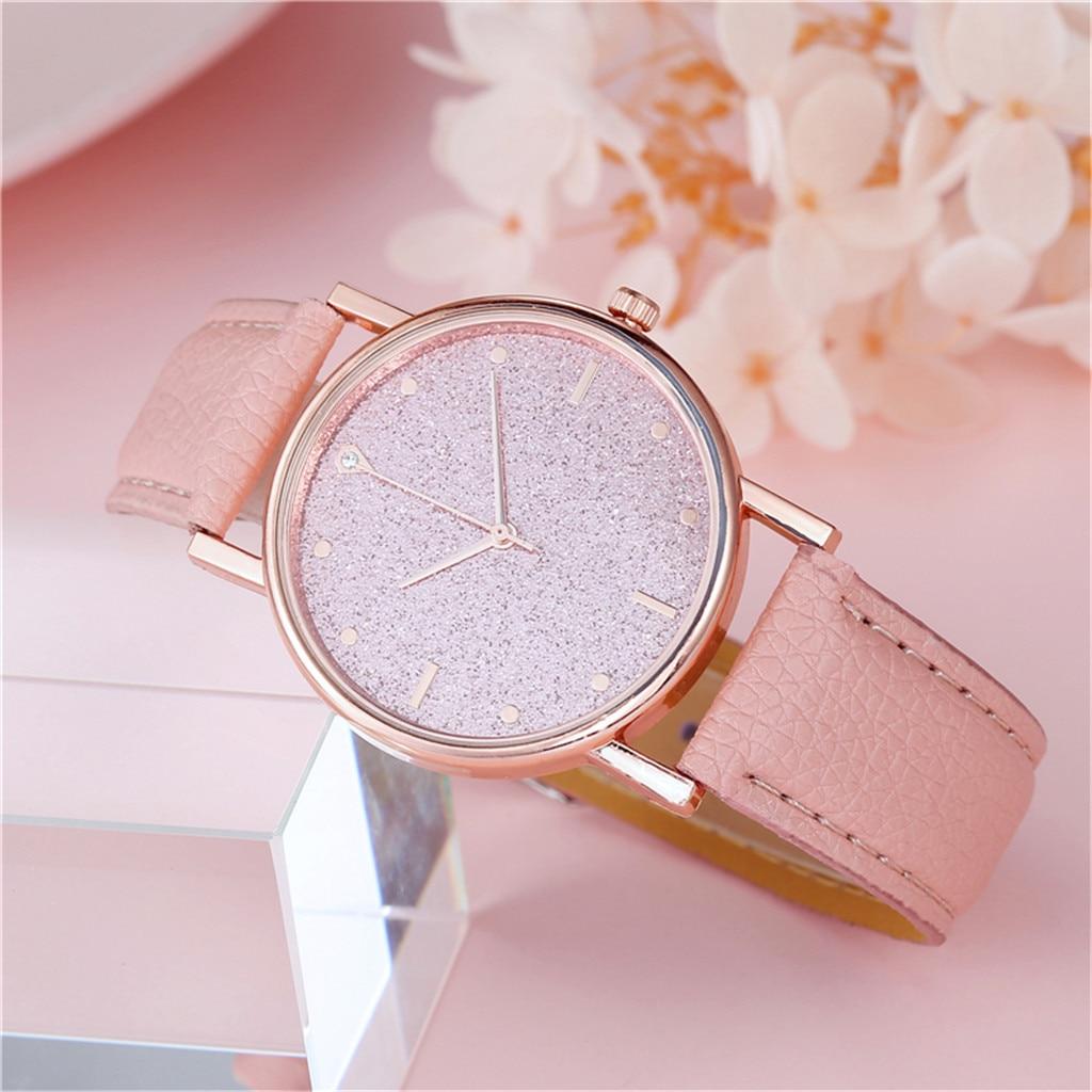 2021 Ladies Luxury Wrist Watch Women Watches Quartz Watch Stainless Steel Dial Casual Bracele Watch