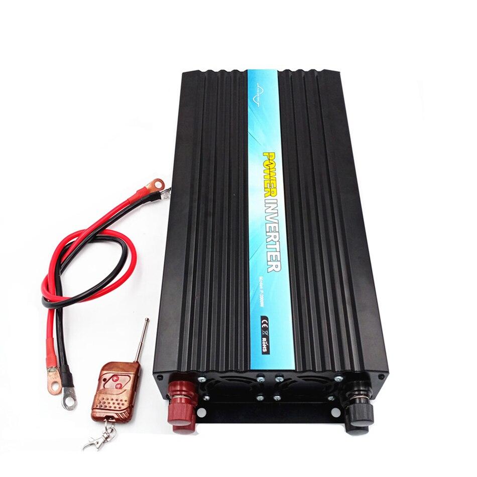 1500w CE&SGS&RoHS Approved 1 phase 1kw1.5kw 2kw 3kw 4kw 5kw High efficiency solar inverter for fridge, computer, TV,  Fan
