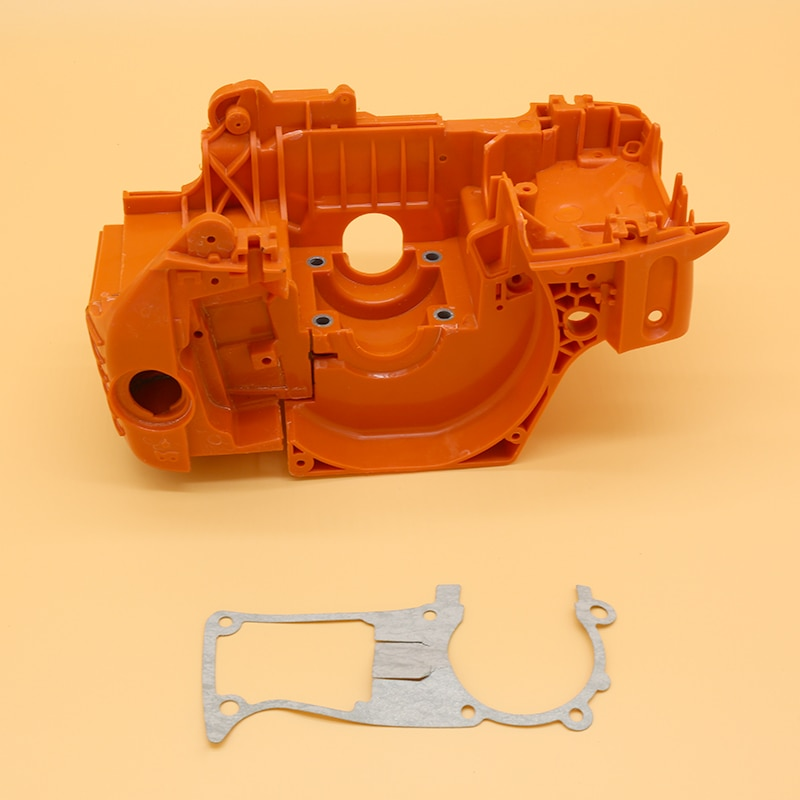 Engine Crankcase Crank Case With Gasket Fit For HUSQVARNA 350 345 340 Gas Chainsaw Motor Replacement Parts #537172001