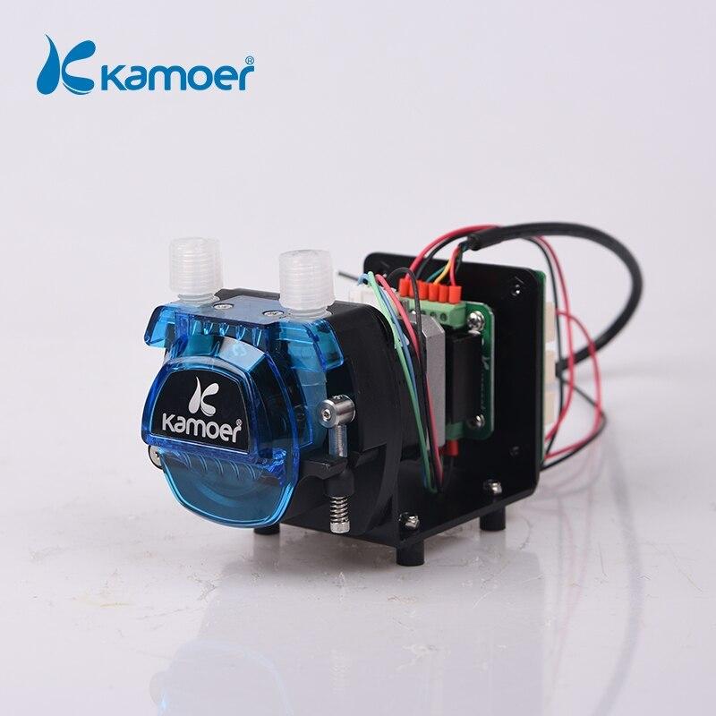 كاموير KCM-ODM عالية الدقة مضخة الجرعة التمعجية الصغيرة 12 فولت/24 فولت مع محرك متدرج