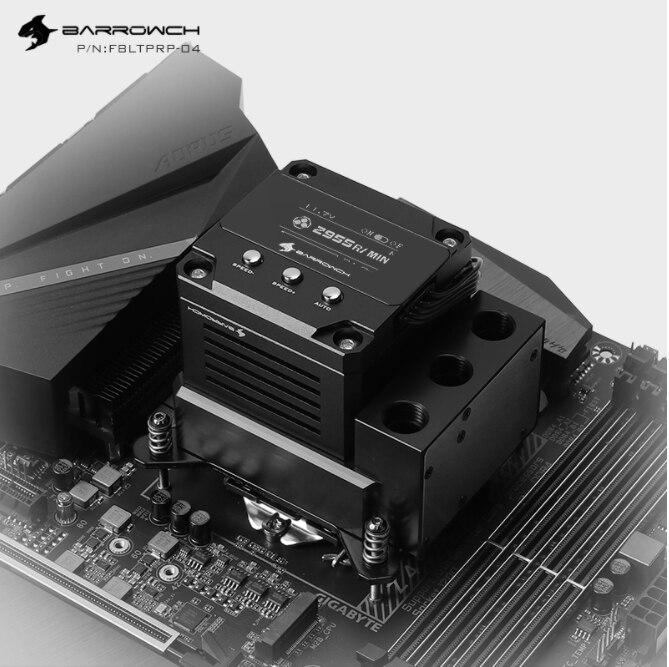 Barrowch بوم CPU كتلة مضخة خزان 17W PWM ذكي مضخة ثلاثة في واحد OLED الرقمية عرض ، LTPRP-04/LTPRPA-04/LTPRPX-04