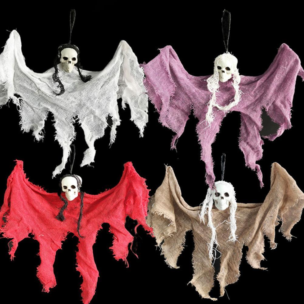 Подвесные украшения на Хэллоуин, темативечерние, подвесные призраки, подвесные яркие украшения на Хэллоуин
