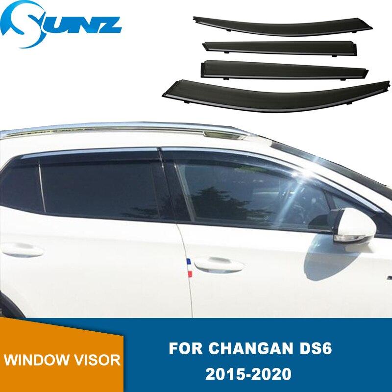 Side Window Deflector For Changan DS6 2015 2016 2017 2018 2019 2020 Window Visor Weathershield Sun Rain Deflector Guards SUNZ