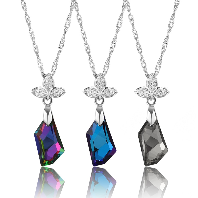 11x18mm Rhombus Forma DIY Jewelry Making Acessórios Colar Pingentes AB Cor Pointback Pedrinhas Strass Cristais
