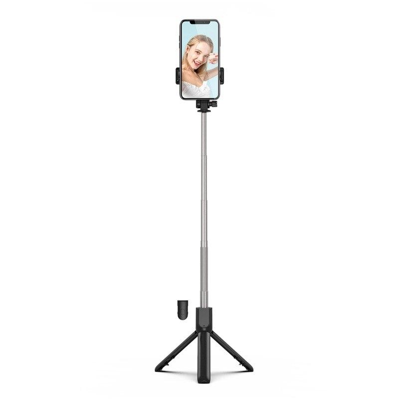 Портативная выдвижная стойка для горизонтальной и вертикальной съемки, bluetooth селфи-палка, штатив для видеокамеры, настольный ленивый кронш...