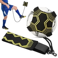 soccer trainer soccer kick trainer solo practicing soccer training aid with adjustable belt soccer training equipment all size