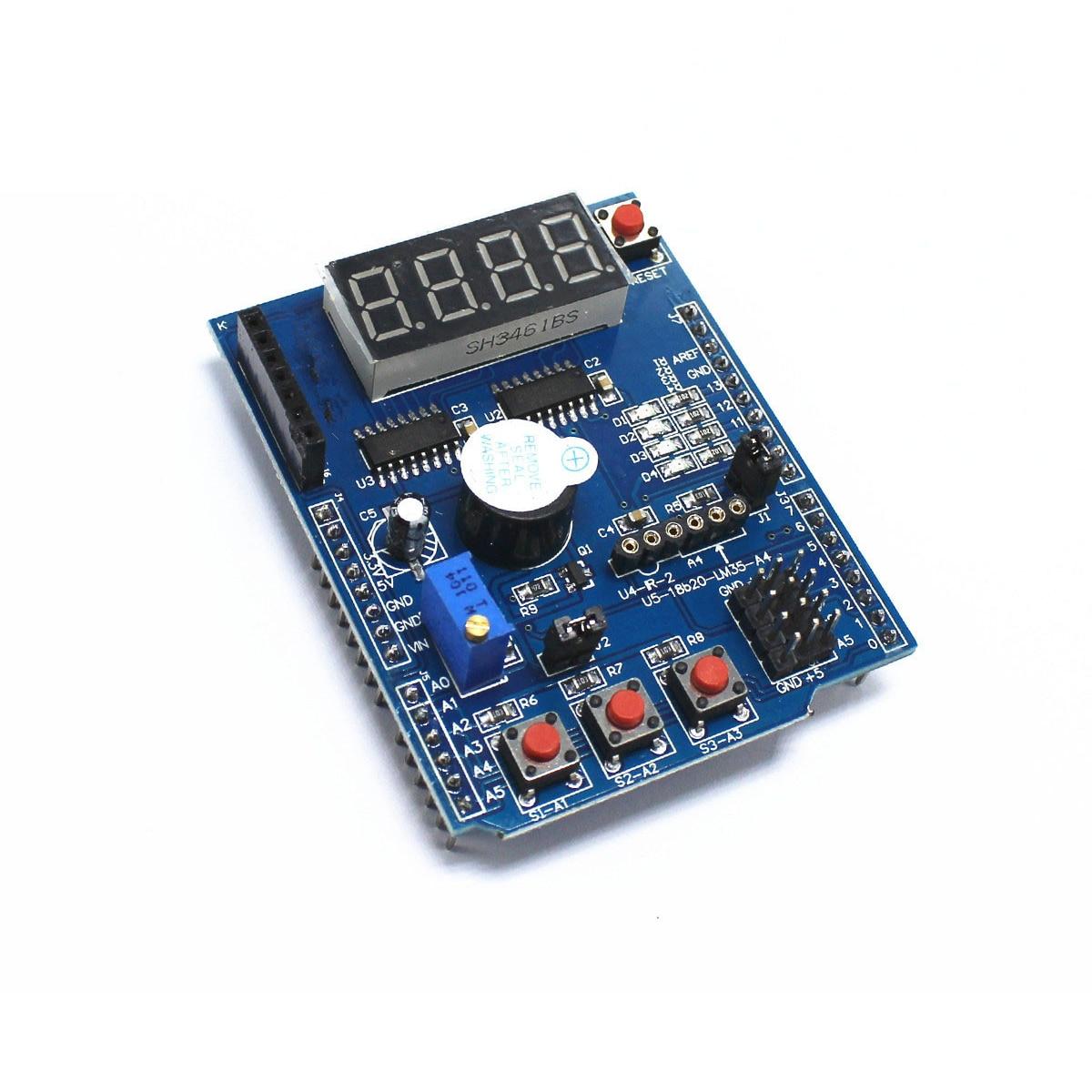 Multifuncional placa de expansión kit de aprendizaje para arduino UNO r3 LENARDO mega 2560 escudo