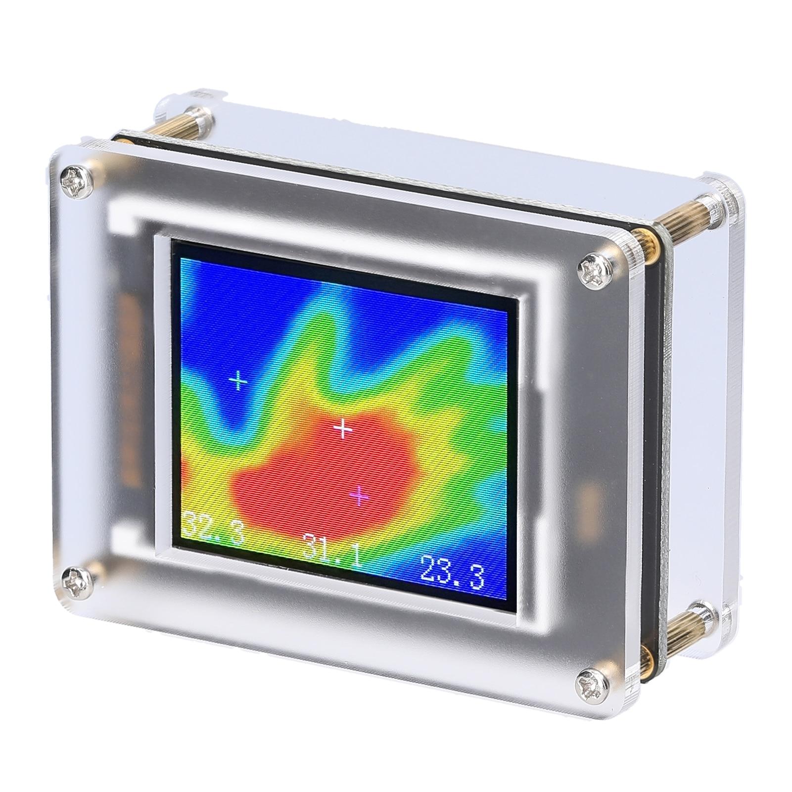 MLX90640 1.8 بوصة الرقمية الأشعة تحت الحمراء الحرارية تصوير TFT عرض يده درجة حرترة تحت الحمراء أجهزة الاستشعار متعددة الأغراض كشف