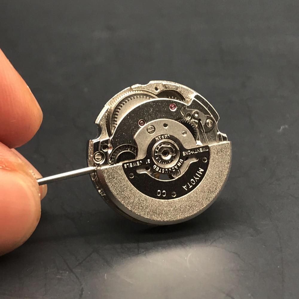 Miyota Japan Automatic Movement 6T28 Mechanical Movement Female Wristwatch 21 Jewels High-end Citizen Mechanical Replace enlarge