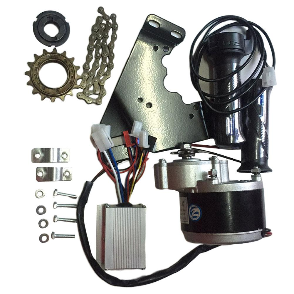 24V 250W контроллер двигателя комплект для переоборудования электрического велосипеда маховик ручка кронштейн цепи для 20-28 дюймов e-велосипед велосипед комплект
