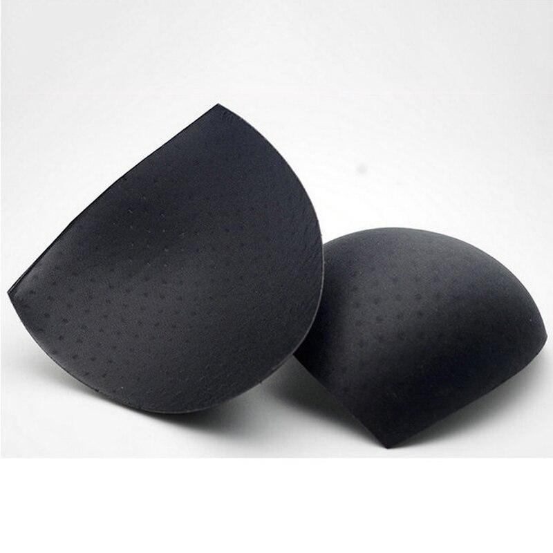 2Pcs=1Pair Removeable Women Sponge Bra Padding Inserts Swimsuit Bikini Sexy Push Up Breast Enhancer