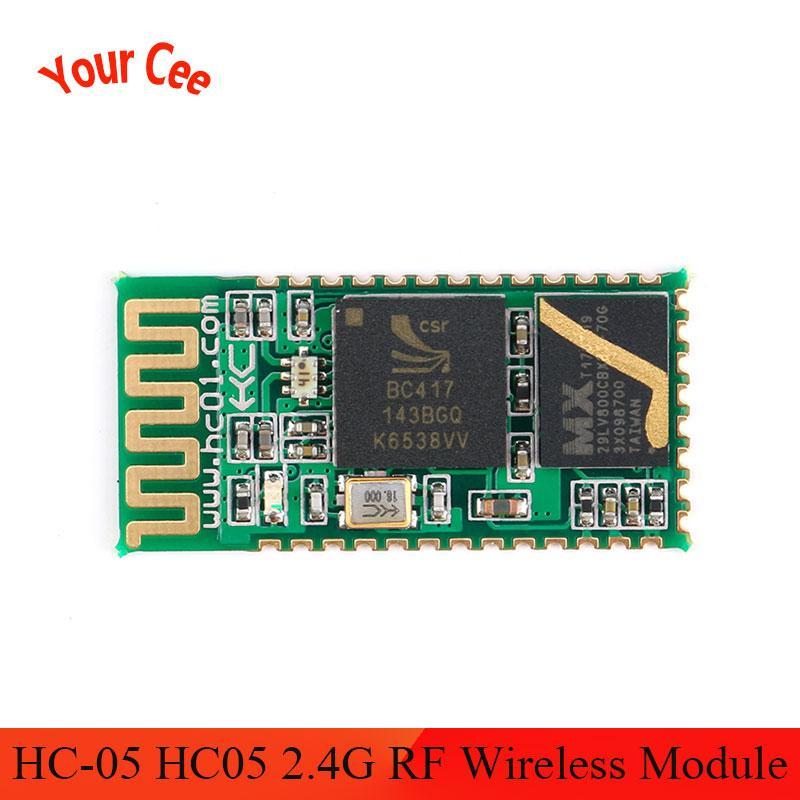 HC-05 HC 05 2.4G RF Wireless Bluetooth Transceiver Master Slave Module Serial UART 3.3V TTL HC05 for Arduino