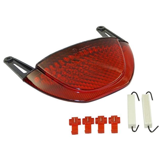 Motorcycle Tail Light, LED Rear Brake Light with Steering for 2007-2013 Honda CBR600RR F5