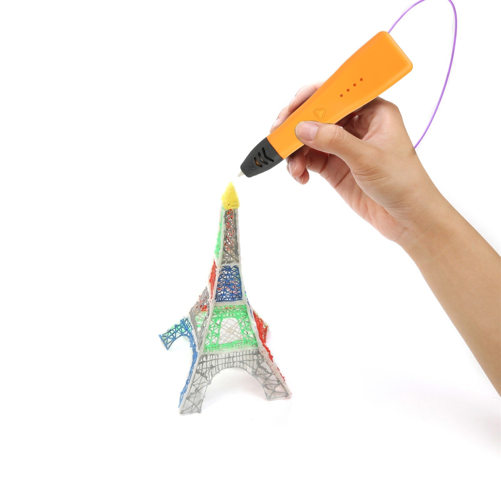 3D Pen Diy 3d Printer Pen Drawing Pens 3d Printing Best For Kids With Abs Filament 1.75mm 110v Christmas Birthday Gift