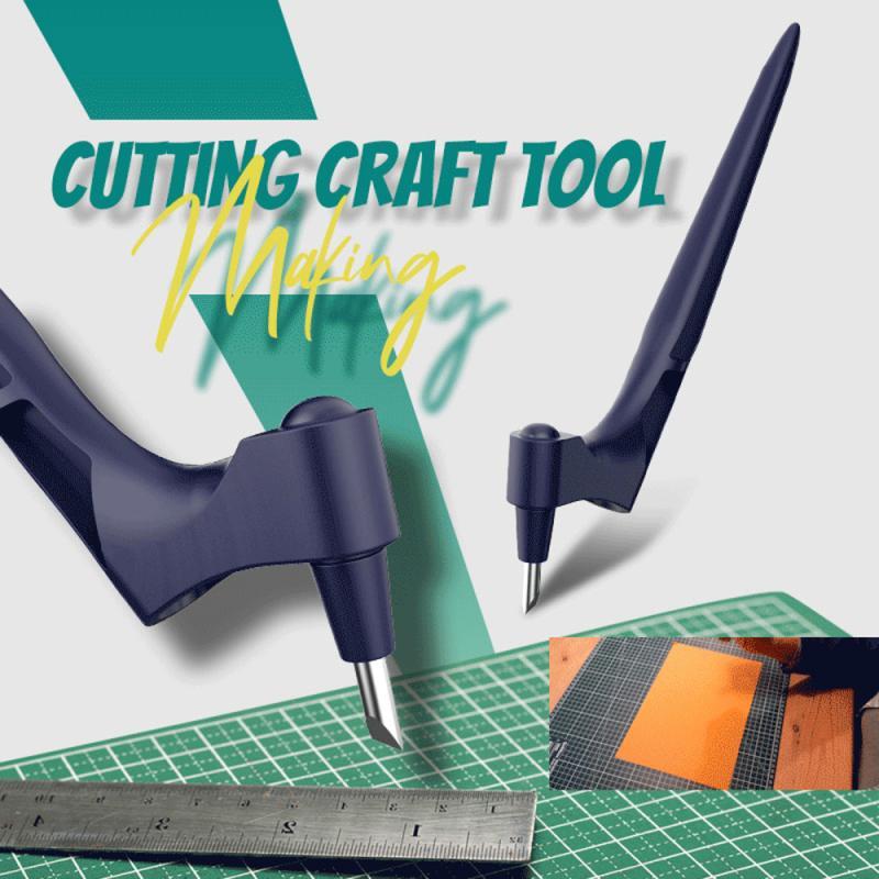 Новый гравировальный нож практичный резак для бумаги ручной инструмент ручной вращающийся на 360 градусов резак инструмент Безопасный нож д...