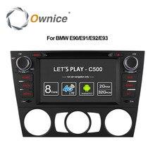 Ownice C500 4G SIM LTE 안 드 로이드 6.0 Octa 8 코어 자동차 DVD BMW 3 시리즈 E90 E91 E92 E93 GPS 지원 Wifi 라디오 2GB RAM 32GB ROM
