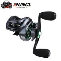 RUNCL Svallet Baitcasting Reel Magnetic Brake System Reel 8KG Max Drag 10+1 BBs 7.3:1 High Speed Fishing Reel