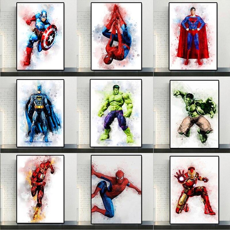 los-vengadores-de-marvel-de-arte-de-pared-para-ninos-lienzo-impreso-pintura-de-acuarela-posteres-de-dibujos-animados-de-superheroes-carteles-de-decoracion-de-pared-e-impresiones