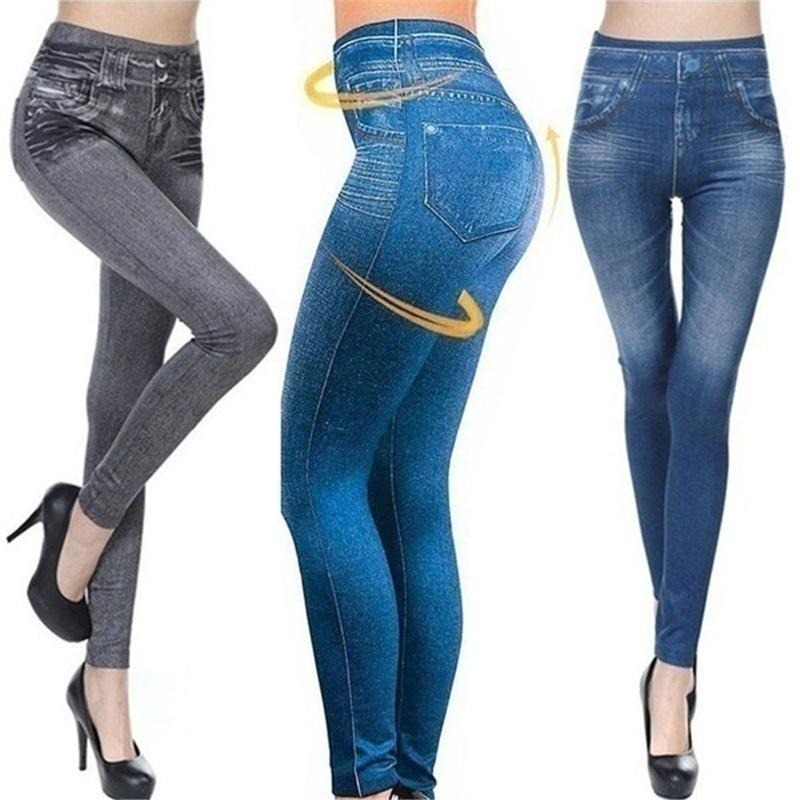 VIP Women Fleece Lined Winter Jegging Jeans Genie Slim Fashion Jeggings Leggings