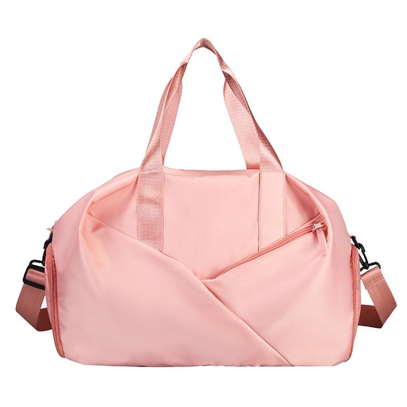 Sport Gym Bag Fitness Dry And Wet Separation Yoga Bag Waterproof Travel Shoes Handbag Women's Shoes