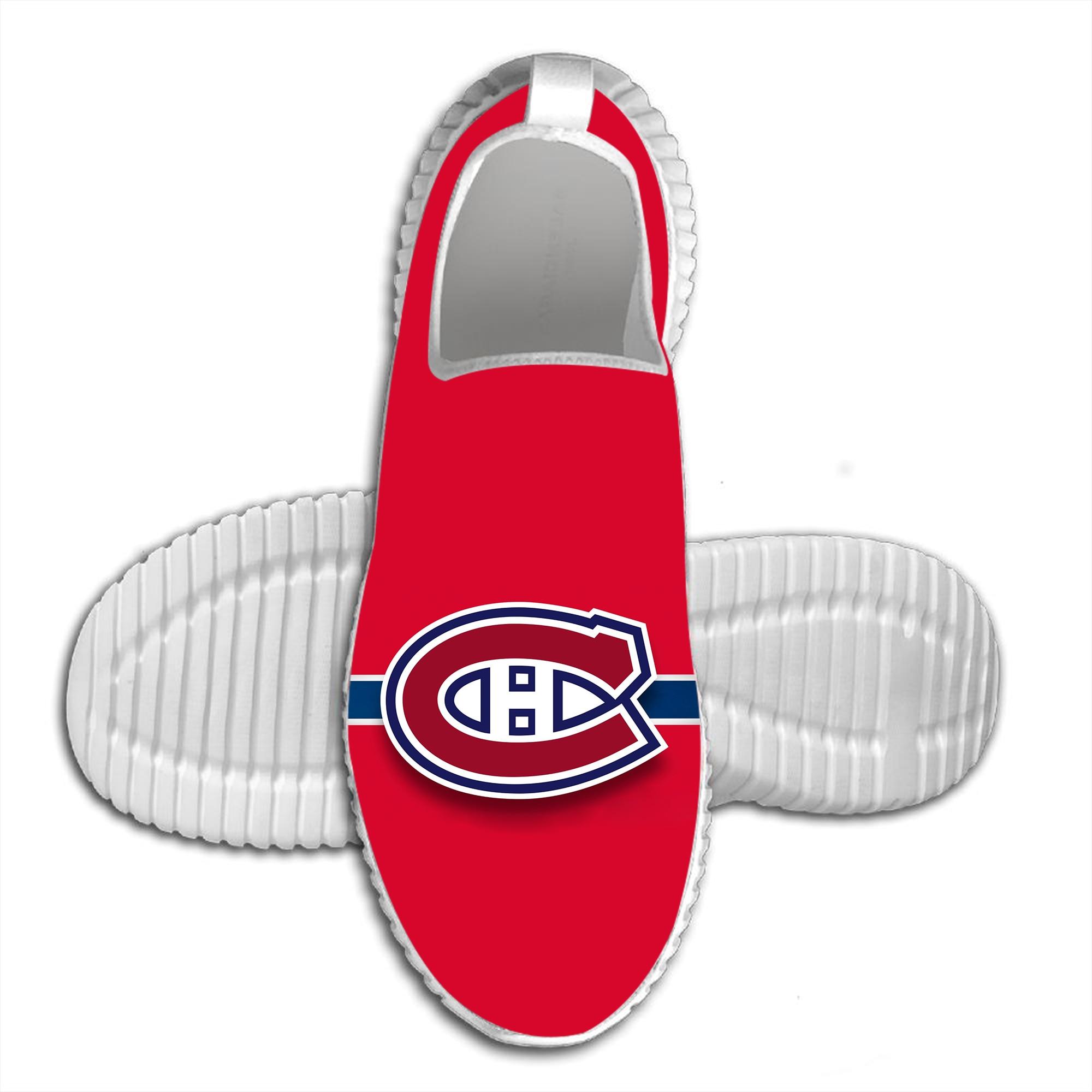 2019 Venta caliente 3D impreso canadiense Montreal verano transpirable zapatos para caminar cómodos zapatos casuales ligeros