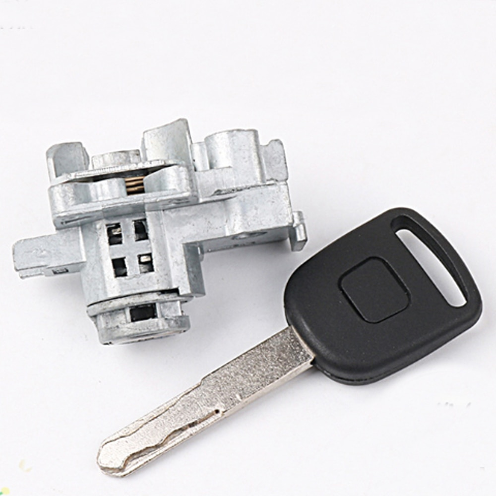 Replacement Ignition Lock Cylinder Auto Door For 03-11 Honda With 1 Key Free Shipping