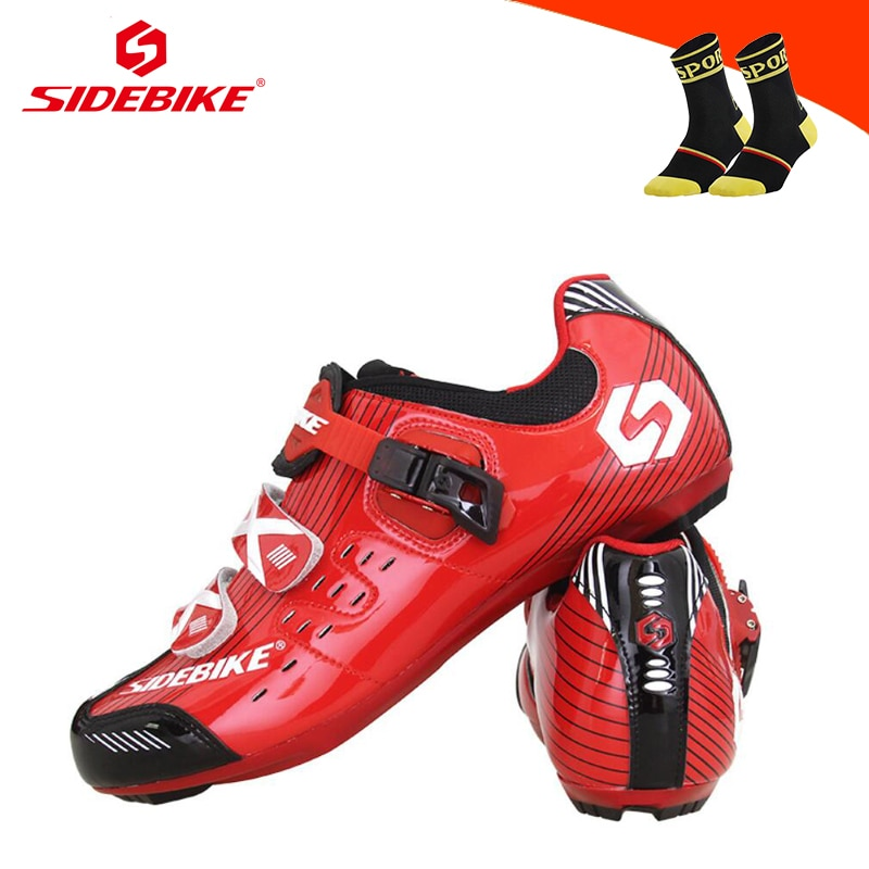 SIDEBIKE Cycling Shoes Sapatilha Ciclismo Bike Off Road Shoes Zapatillas Deportivas Hombre Self-locking Breathable Men Sneakers