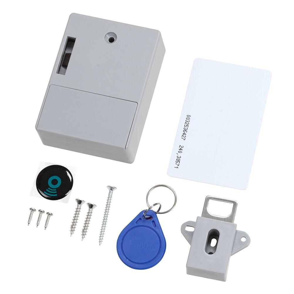 Invisible Hidden Rfid Intelligent Sensor Cabinet Lock Multifunction Unlock Mode Battery Operation Locker Lock Electroni Tool