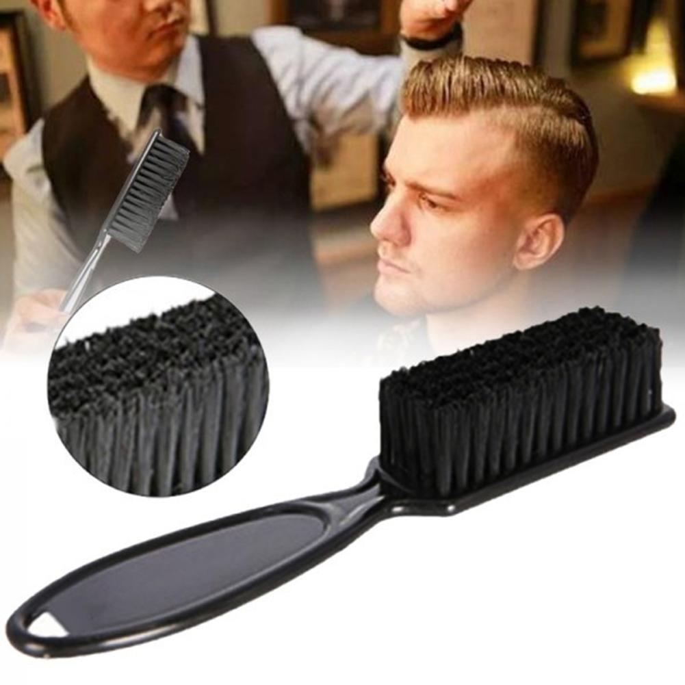 Escova de cabelo portátil escova de cabelo escova de cerdas de javali duro pentes para homens