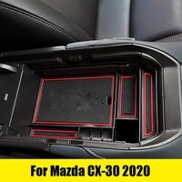 for mazda cx 30 2020 modified special central armrest box glove box storage box car accessories