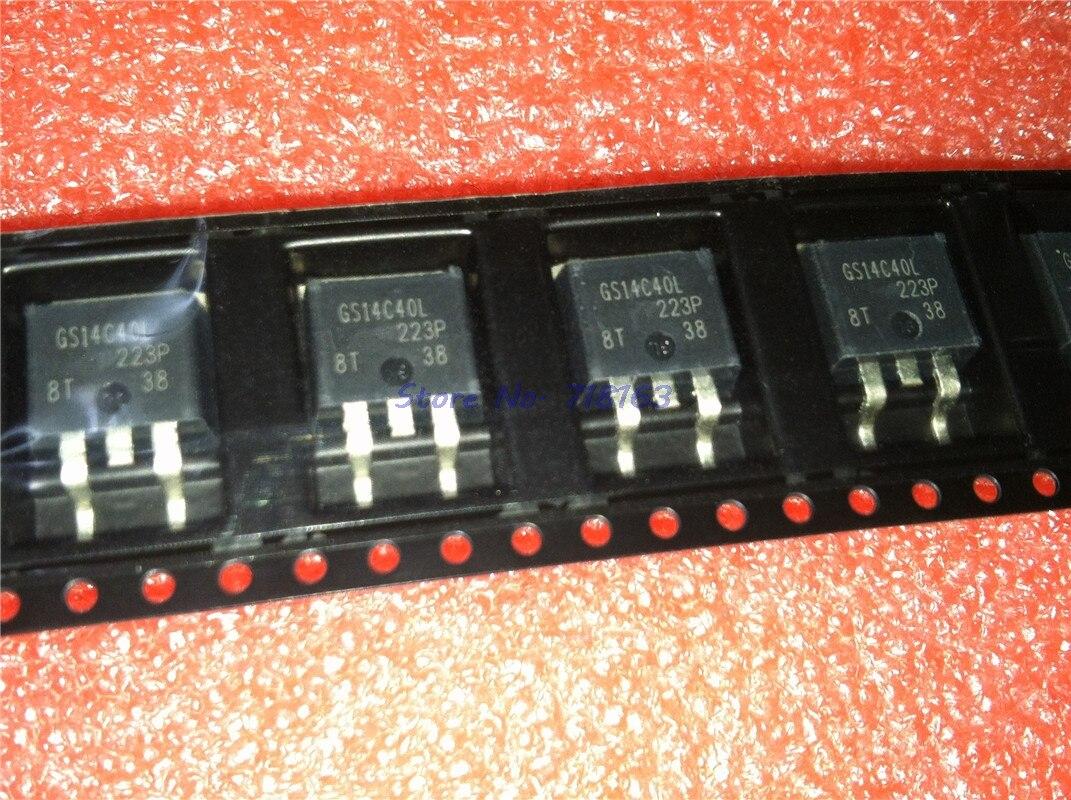 3 unids/lote IRGS14C40L-263 IRGS14C40 TO263 GS14C40L SMD en Stock