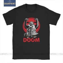 Doom mens t shirts 레트로 게임 conan barbarian thulsa snake cult 빈티지 티셔츠 반소매 티셔츠 100% cotton gift idea